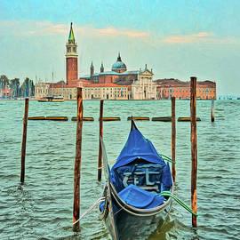 Gary Slawsky - Venice Gondola Across The Canal