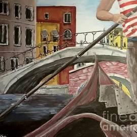 Irving Starr - Gondola In Venice