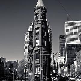 Gooderham Flatiron Building Toronto Canada by Brian Carson