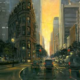 Gooderham Sunset by Michael Swanson