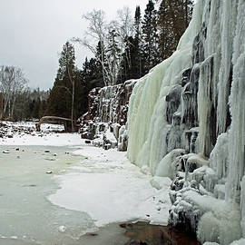 Gooseberry Frozen Falls by James Peterson