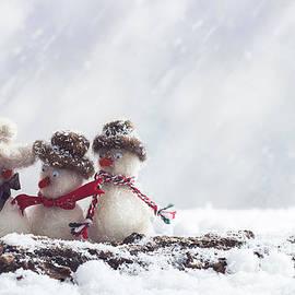 Amanda Elwell - Gossiping Snowmen