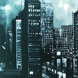 Maja Sokolowska - Gotham painting