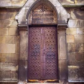 Gothic Door Bratislava Cathedral  - Carol Japp