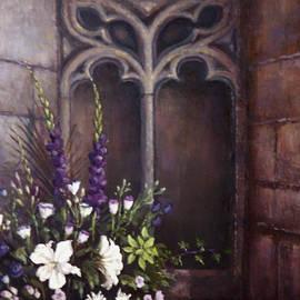 Gothic Wedding Bouquet by Sean Conlon