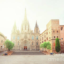 Anastasy Yarmolovich - Gotic Cathedral  of Barcelona