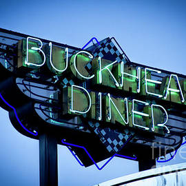 Gourmet Dining The Buckhead Diner Collection Atlanta Buckhead Signage Art by Reid Callaway