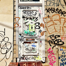 Kathleen K Parker - Graffiti Doorway New Orleans