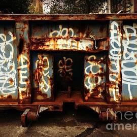Miriam Danar - Graffiti Dumpster - N Y C Street Art