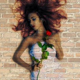 Digital Art Cafe - Graffiti Girl