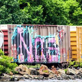 Graffiti on the Rails