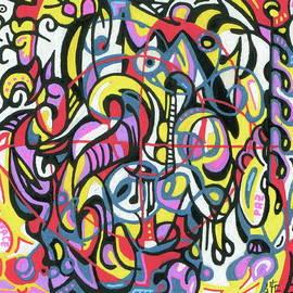 Grafitangle 1 by Carlos Cano - Grindilu