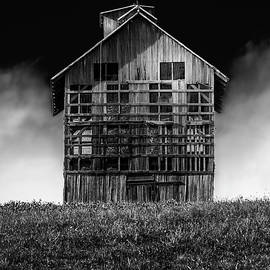 Grain Dryer bw by Marvin Spates
