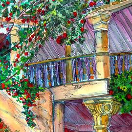 Granada Spain by Mindy Newman