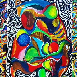 Grand Abstract by Adekunle Ogunade