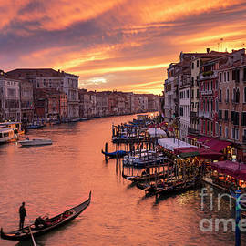 Grand Canal Sunset by Brian Jannsen