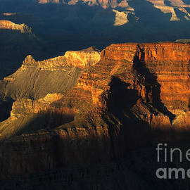 Grand Canyon Arizona Light And Shadow 2 by Bob Christopher