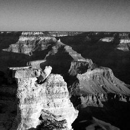 Joshua House - Grand Canyon Black and White