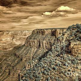 Grand Canyon in Infrared by Norman Gabitzsch