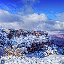Louloua Asgaraly - Grand Canyon in Winter