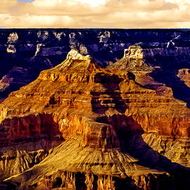 Grand Canyon Painting Sunset by Bob and Nadine Johnston