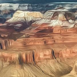 Teresa Wilson - Grand Canyon Sunset Digital Painting 2