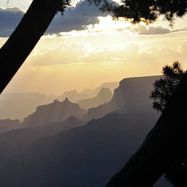 Grand Canyon Sunset by Wes Hanson