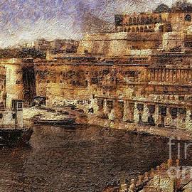 Grand Harbour Valletta Malta by Leigh Kemp