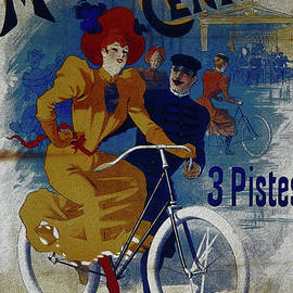 R Muirhead Art - Grand Manege Central vintage cycle poster