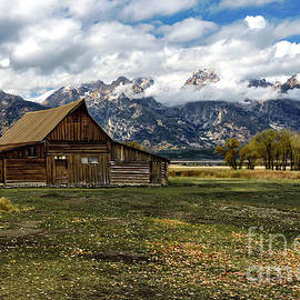 Grand Teton Moulton Mormon Barn by Norma Brandsberg