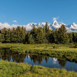 Grand Teton Reflection by Brian Harig