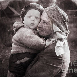 Yuri Lev - Grandmother and Child