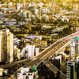 Amyn Nasser - Granville Street Bridge Vancouver British Columbia