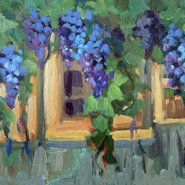 Grape Arbor Provence by Diane McClary