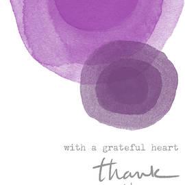 Linda Woods - Grateful Heart Thank You- Art by Linda Woods