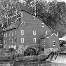 Gray Autumn At The Old Mill In Clinton by Christopher Lotito