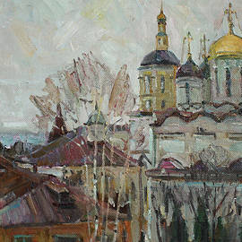 Juliya Zhukova - Gray day at the St. Paphnutius of Borovsk Monastery