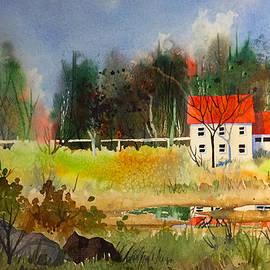 Gray Manor by Teresa Ascone