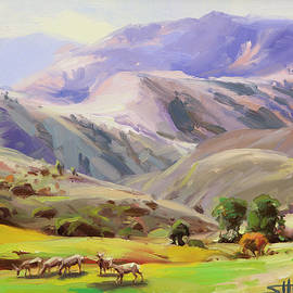 Steve Henderson - Grazing in the Salmon River Mountains
