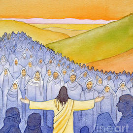 Great crowds followed Jesus as he preached the Good News - Elizabeth Wang