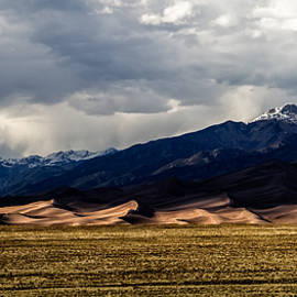 Great Sand Dunes Panorama by Jason Roberts