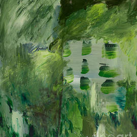 Noa Yerushalmi - Green Abstract