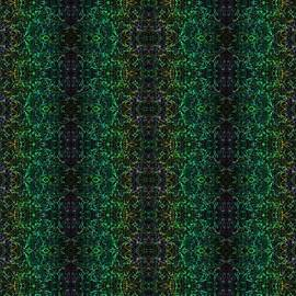 Bruce Nutting - Green Abstract Pattern