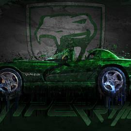 Green Dodge Viper Rt/10 by Ray Van Gundy
