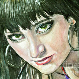 Lori Moon - Green eyes