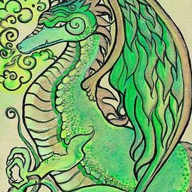 Katherine Nutt - Green Glow Dragon