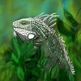 Green Iguana  by Janal Koenig