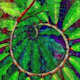 Mo Barton - Green Leaves Spiral