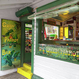 Green Parrot Bar Oh the Tales and Stories - Betsy Knapp