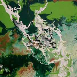Green Series No. 1 by Carole Sluski